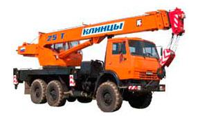Автокран КС-55713 (25 тонн)